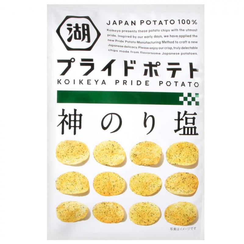 湖池屋Pride Potato 海苔鹽味薯片58g - Market 668