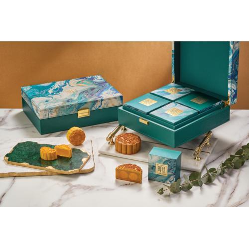 香港康得思酒店 - 雙黃白蓮蓉月餅禮盒禮劵 (4件裝)