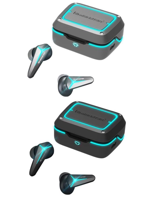Monster Mission V1 電競真無線藍芽耳機 TWS Headphone