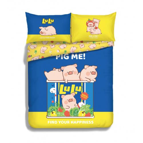 罐頭豬LuLu 840針活性印花純棉系列 (LU002)