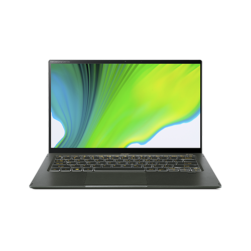 Acer Swift 5 (i7-1165G7 1TB PCIe NVME SSD)SF514-55TA-79EQ 筆記型電腦 (Mist Green) Antimicrobial