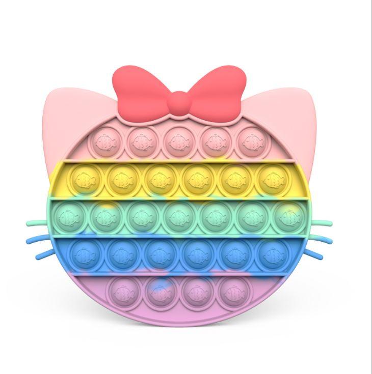 擠壓式體感桌上訓練集中力遊戲親子Autism ADHD ADD SEN兒童玩具 -粉彩色