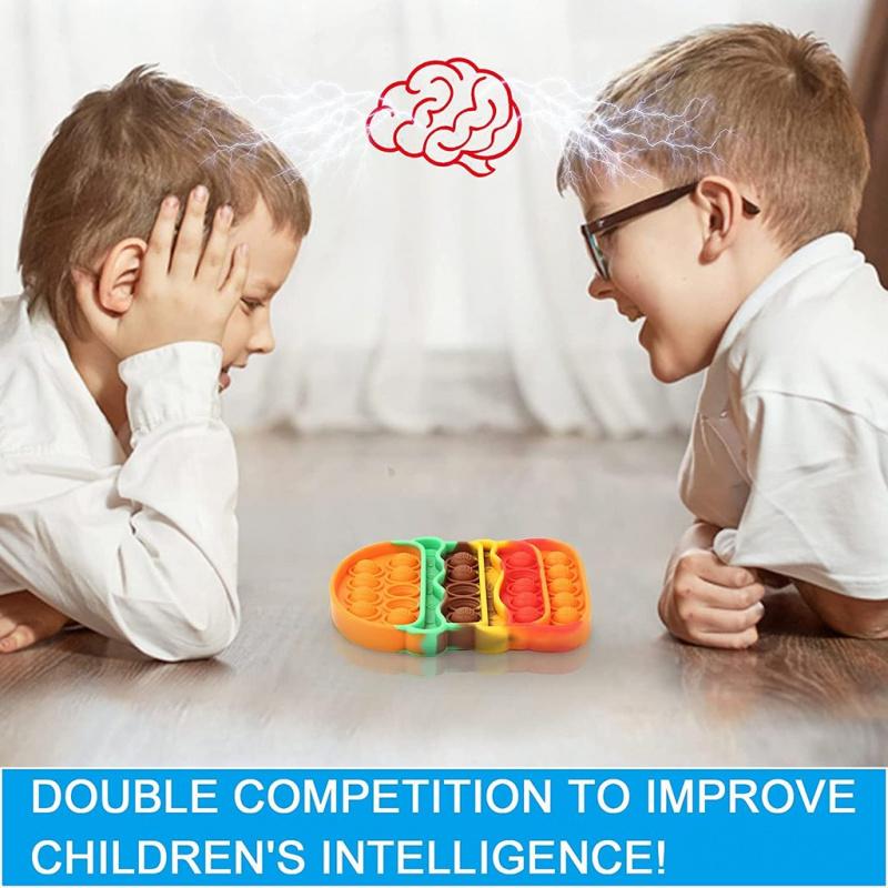 擠壓式體感桌上訓練集中力遊戲親子Autism ADHD ADD SEN兒童玩具 -快餐