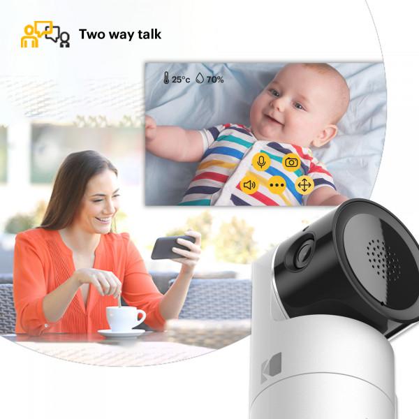 【香港行貨】Kodak CHERISH C225 智能視頻嬰兒監視器
