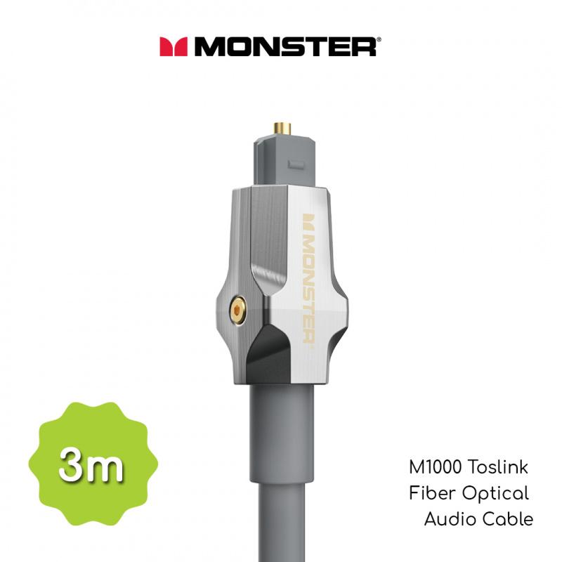 Monster 怪獸線 M1000 Toslink 光纖數碼傳輸綫 (3 米)