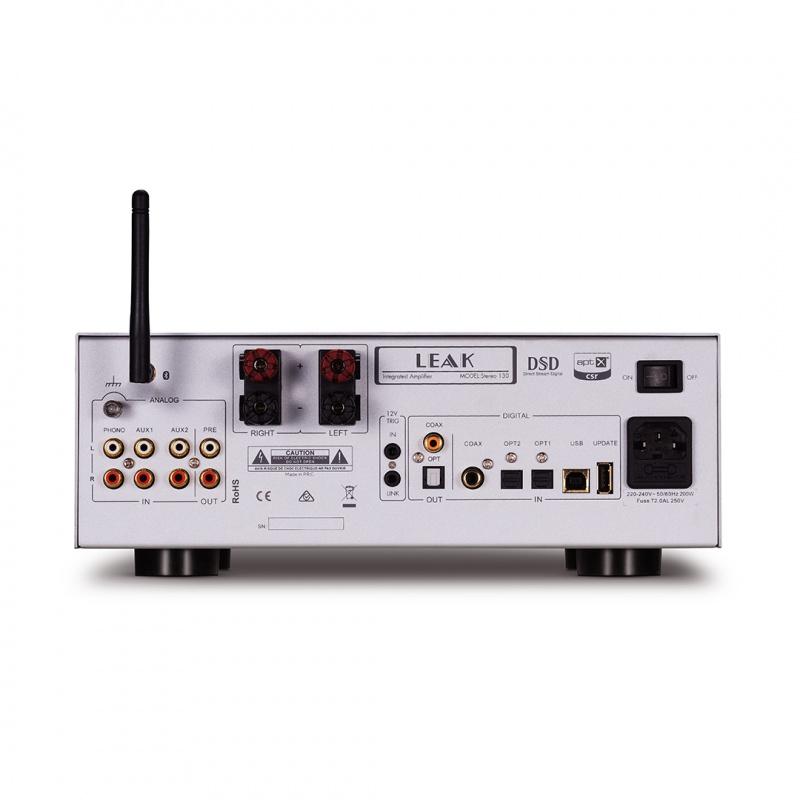 LEAK STEREO 130 合併式擴音機 (經典銀色)