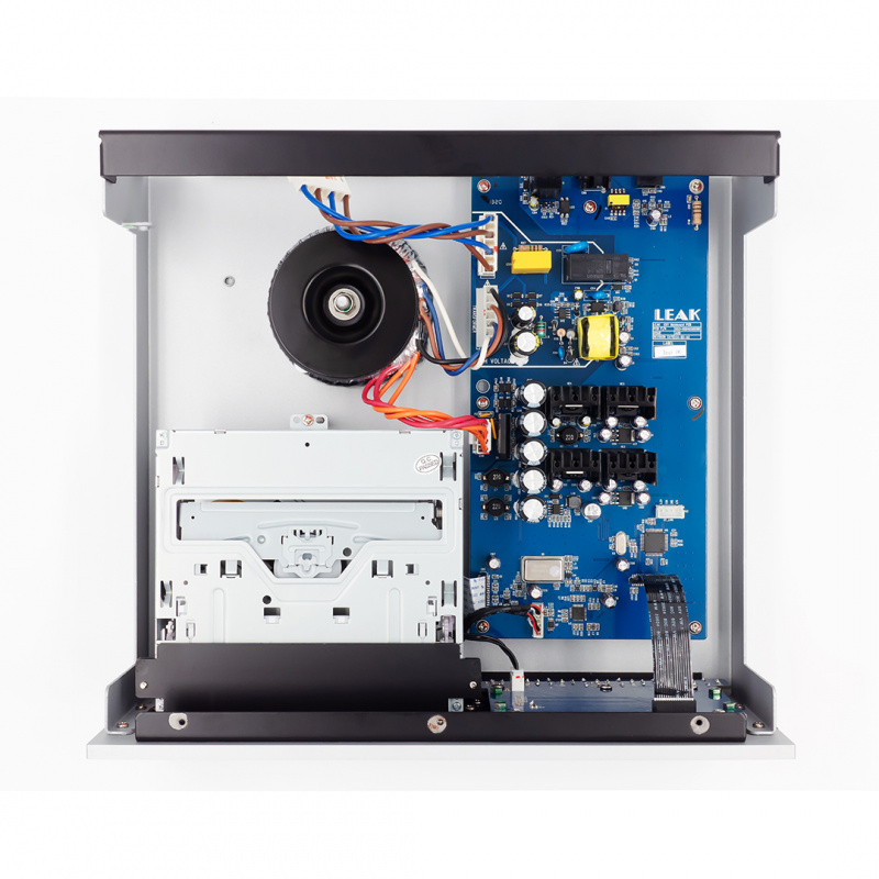 LEAK STEREO 130 合併式擴音機 + CDT CD 轉盤 (經典銀色)