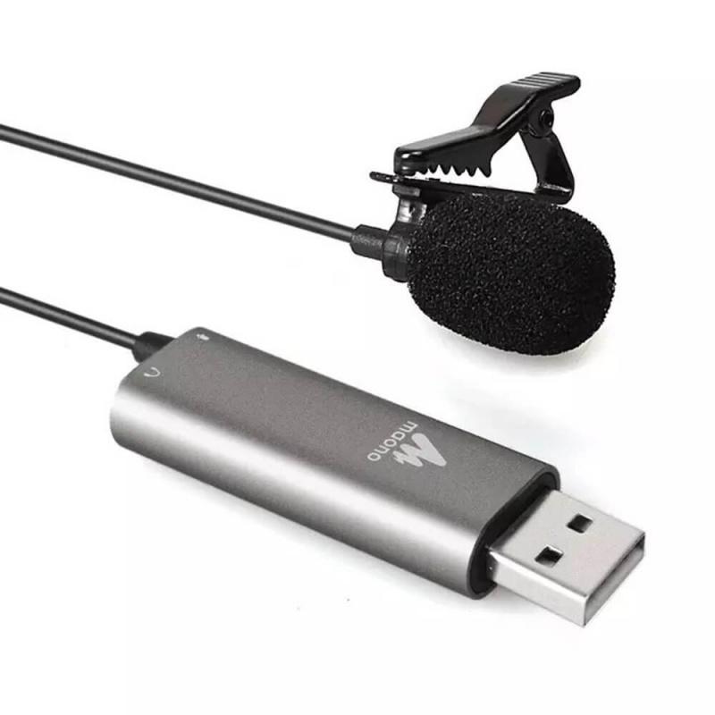 【香港行貨】MAONO AU-UL20 Lavalier USB Condenser Microphone
