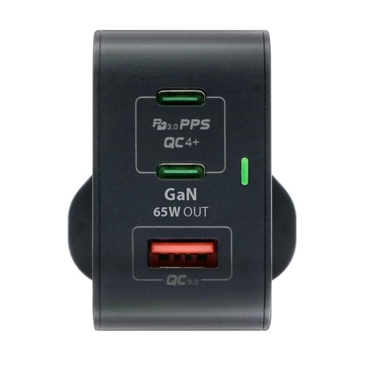Maxpower 牛魔王 65W 3 位 GaN USB 充電器 GN65X 【香港行貨】