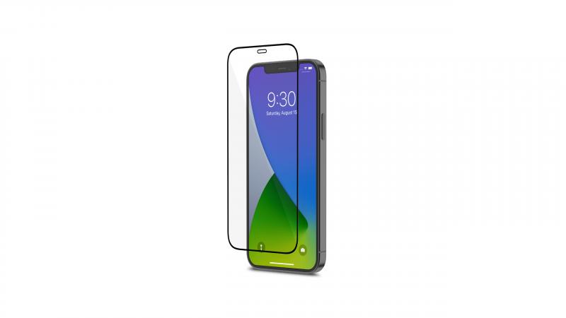 【香港行貨】Moshi AirFoil Pro for iPhone 12/12 Pro 強韌抗衝擊滿版螢幕保護貼