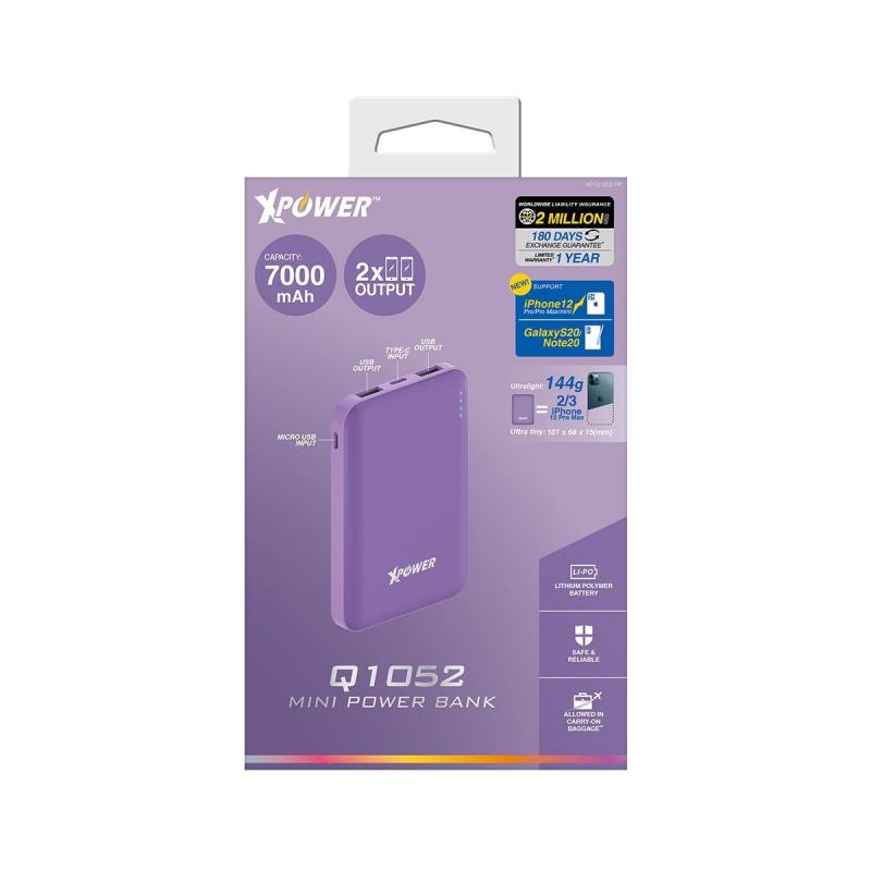 XPower Q1052 迷你7000mAh外置充電器