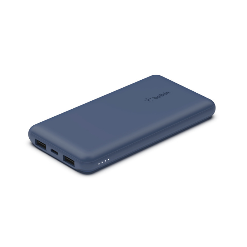 Belkin BOOST↑CHARGE™ (BPB011bt) 3 個連接埠行動充電器 10K + USB-A 轉 USB-C 充電線