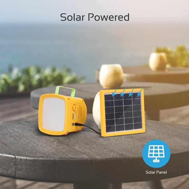 Promate SolarTorch-1 三合一戶外太陽能LED露營套件 4400mAh 【香港行貨】
