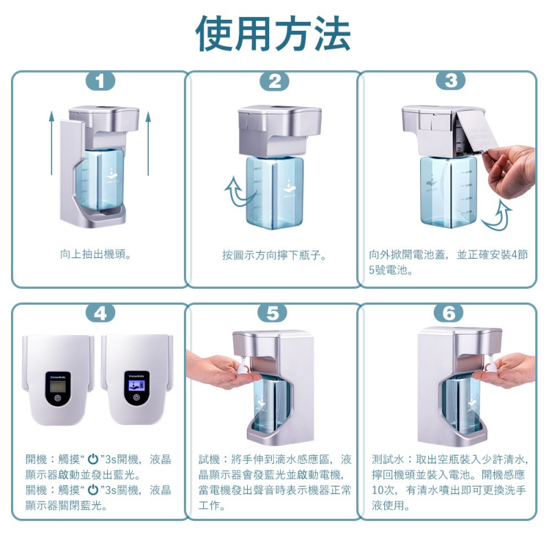 VisionKids AUTOSOAP・自動感應皂液機 (接受預訂)