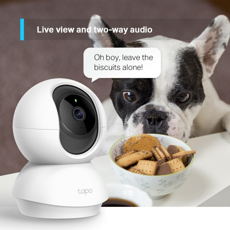 TP-Link Tapo C210 2K 1296p Pan/Tilt Home Security Wi-Fi Camera 旋轉式智能網絡攝影機 【香港行貨】