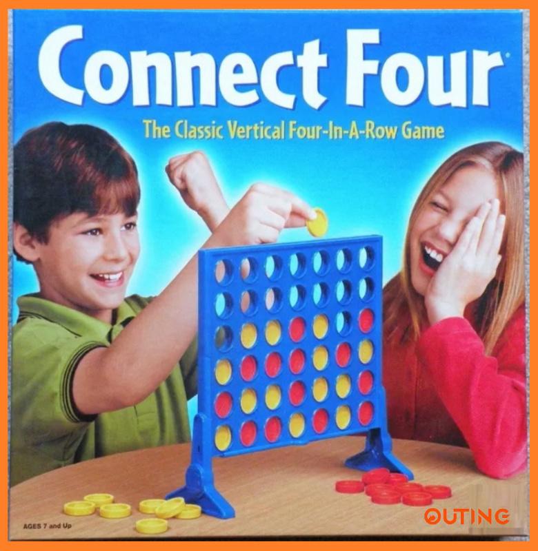 經典連環四子棋 蘋果棋 益智遊戲 訓練集中力親子遊戲 ADHD