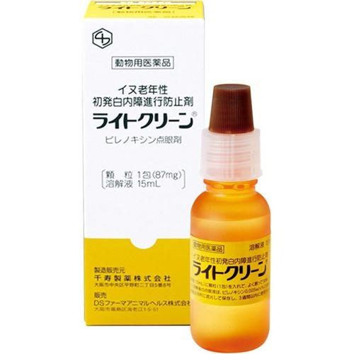 日本千壽Senju Light clean老年犬隻延緩初期白內障眼藥水