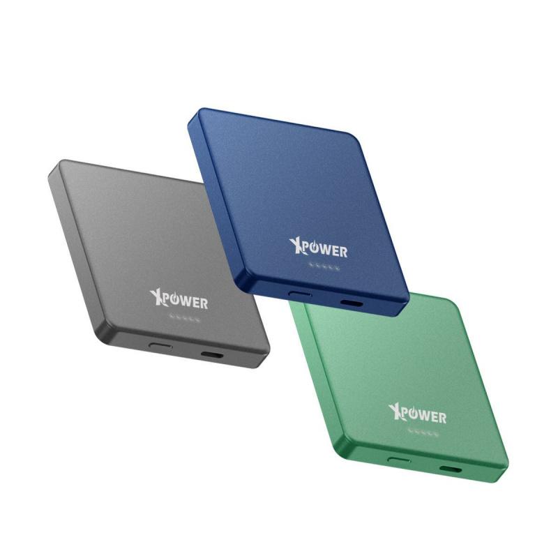 XPower MM5 5000mAh 無線充+PD外置充電器