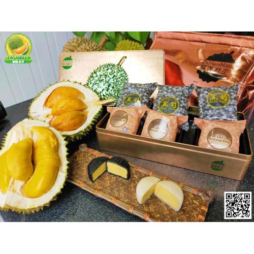 [馬來西亞直送優惠] 榴槤B哥 「榴蓮鮮生」雙榴槤冰皮月餅