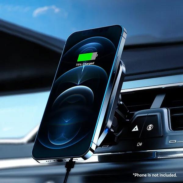 Magic-Pro ProMini Mag·Mount iPhone 12系列專用磁吸無線快速充電車用支架