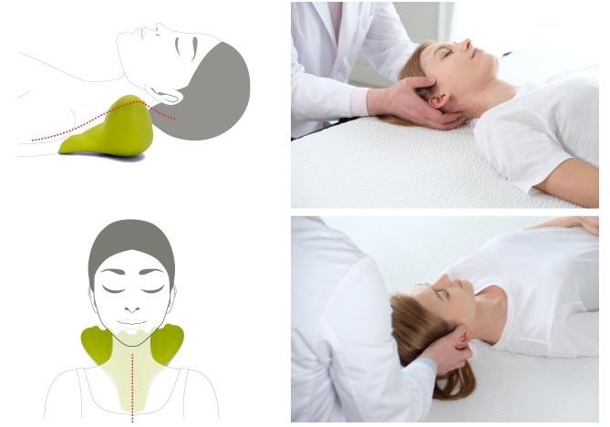 自助按摩肩頸神器 - benepom C-Rest肩頸按摩枕(韓國品牌)(C-REST-V2, green)