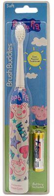 Brush Buddies Peppa Pig 兒童電動牙刷連電池