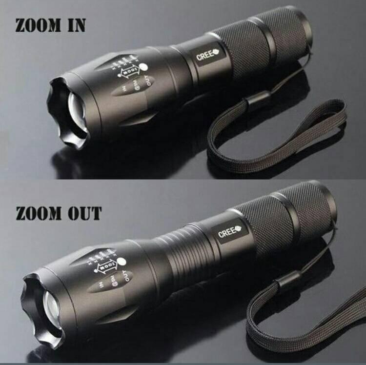 TacLight LED調節手電筒