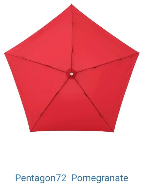 Pentagon72 日本摺疊雨傘 [10色]