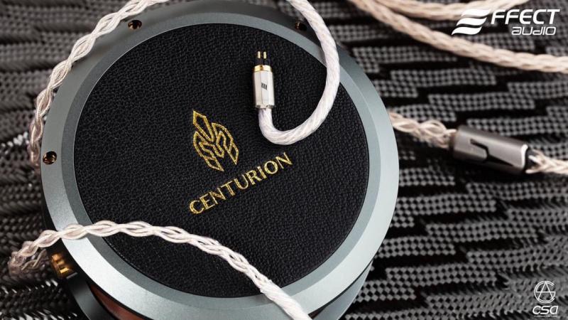 Effect Audio Centurion 百夫長 旗艦級金銀合金鍍金耳機升級線
