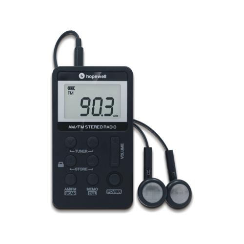 Hopewell AM / FM立體聲袋裝收音機 ( DSE適用 ) RP-91