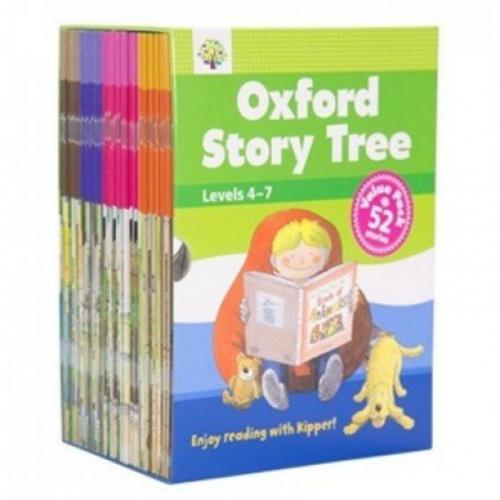 Oxford story tree 兒童故事書超值套裝 level 4-7 [52冊]
