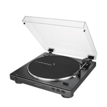 AUDIO TECHNICA - 原裝行貨 皮帶驅動式全自動播放型黑膠唱盤 33轉 45轉 45dB AT-LP60X