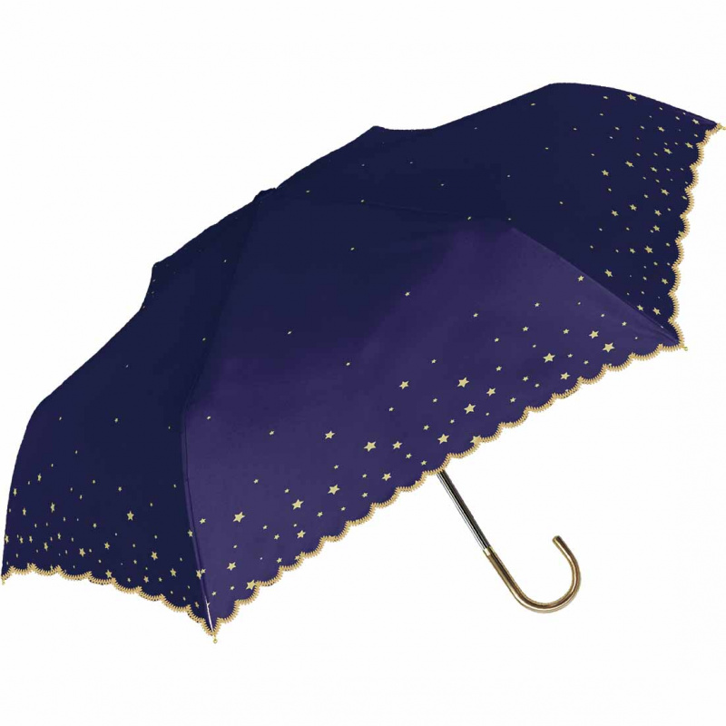 日本NATURAL BASIC晴雨兼用折傘 - Parasol