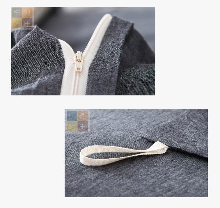 日式民宿採用雙人床品套裝