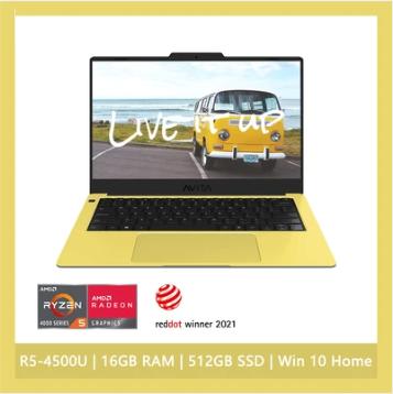 """AVITA LIBER V 14"""" AMD 2021版 Ryzen™ 5 16GB Ram 512GB SSD"""