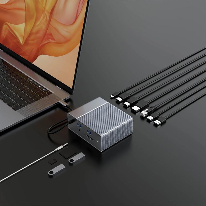 HyperDrive GEN2 12-in-1 USB-C Dock - 2X Speed, 2X Power G212