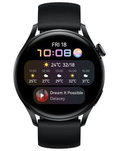 Huawei 華為 Watch 3 46mm 智能手錶 [2色]
