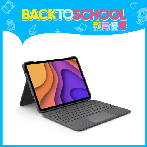 Logitech Combo Touch 保護殼 (iPad Air 第4代用)