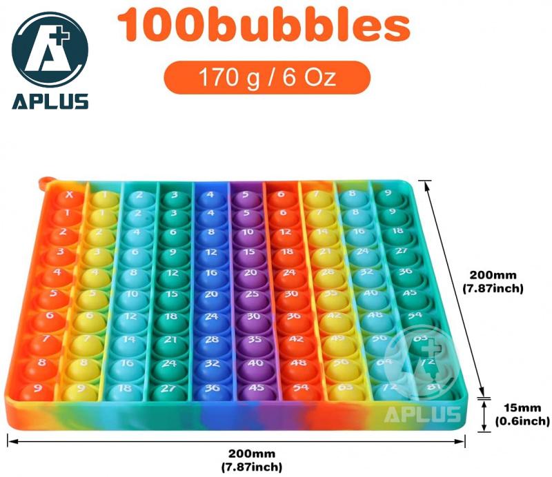 乘數表Pop it Bubble