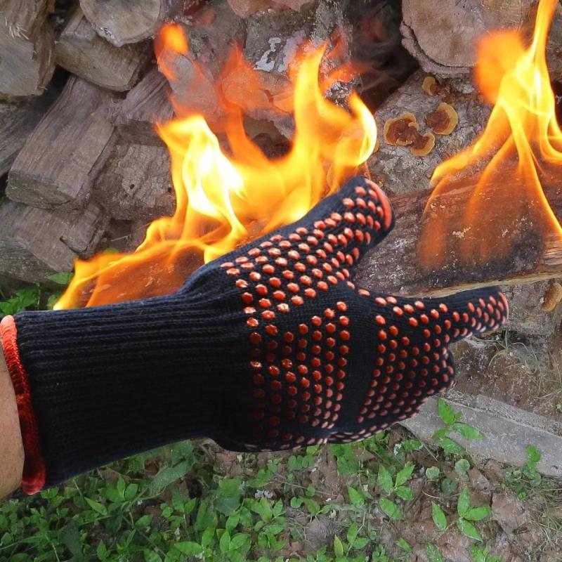 美國隔熱手套 932°F 隔熱 適合BBQ 焗爐 燒烤