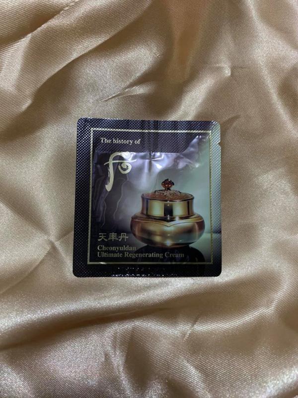 天率丹 極致再生霜 [可作眼霜用] ($200/40片) (Ultimate Regenerating Cream)
