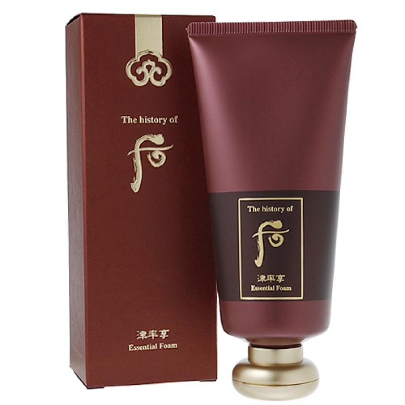 津率享 紅山蔘淨顏泡沫 180ml (Jinyul Essential Cleansing Foam)