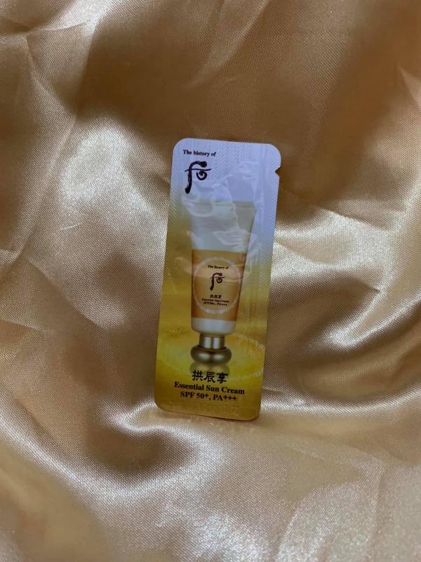 拱辰享 修護防曬營養霜 ($90/30片) SPF50+/PA+++ (Essential Sun Cream)