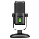 Saramonic Large Diaphragm USB Studio Microphone With Magnetic Tabletop Stand SR-MV2000