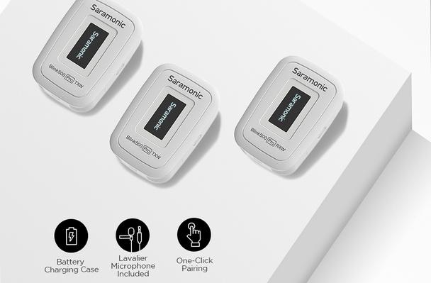 Saramonic Blink500 Pro B2 (TX+TX+RX) 2.4Ghz 一對二無線領夾咪