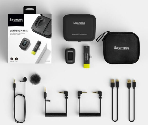 Saramonic Blink500 Pro B5 Wireless Microphone System For Android USB Type-C