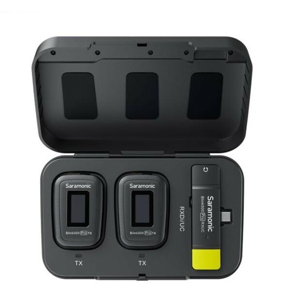 Saramonic Blink500 Pro B6 2.4Ghz 一對二無線手機領夾咪 For Android USB Type-C