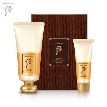 拱辰享 潔面泡沫 卸妝霜 套裝 (180ml+40ml) (Facial Foam Cleanser Special Set)