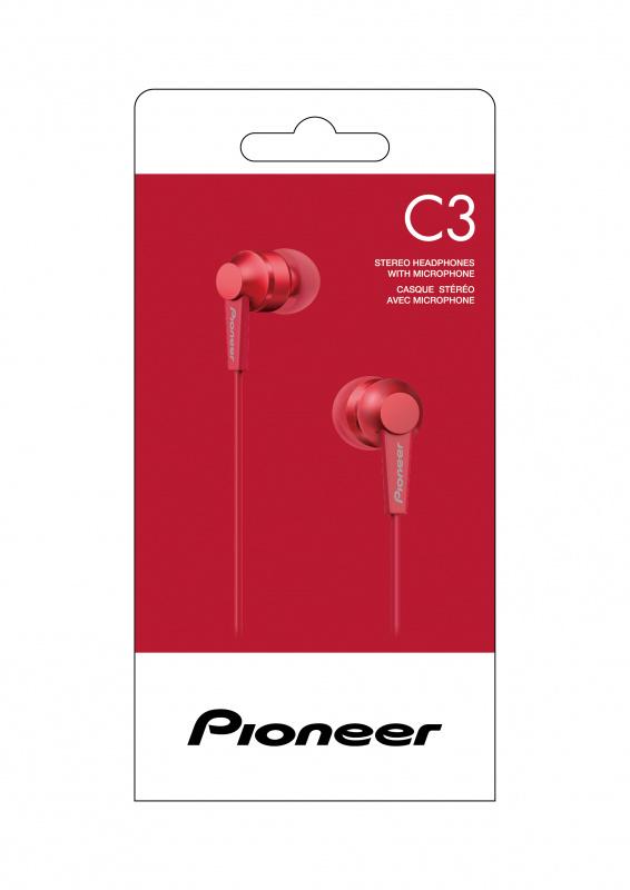 Pioneer SE-C3T 日系通訊入耳式耳機
