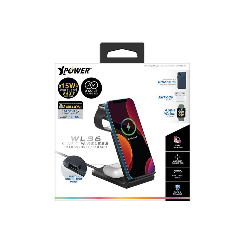 XPower WLS6 多功能無線充電器